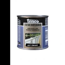 TENCOFERRO 407 DEKKEND ZWART 250ML