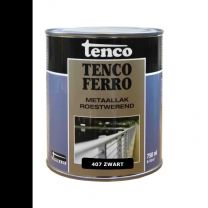 TENCOFERRO 407 DEKKEND ZWART 750ML