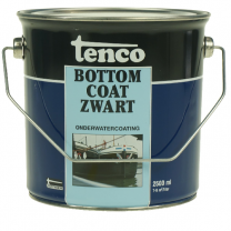 TENCO BOTTOM COAT ZWART 2,5LTR (TEERVRIJ)