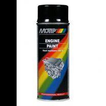 MOTIP ENGINE PAINT 110°C  HG  BLACK 400ML