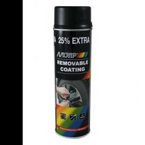 MOTIP SPRAYPLAST 500ML BLACK MAT