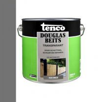 TENCO DOUGLAS BEITS TRANSPARANT OUD GRIJS  2,5LTR