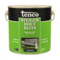 TENCO STEIGERHOUTBEITS ANTRACIET 2,5LTR