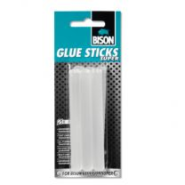 BISON GLUE STICKS SUPER 6 ST. LIJMPATRONEN Ø 11 MM UNIVERSAL