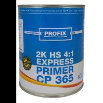 PROFIX HS FILLER 4:1 CP365 ZWART  0,80LTR