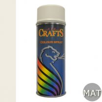 AIR CRAFTS HOBBY 400ML MAT RAL 9010 PURE WHITE