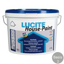 LUCITE HOUSEPAINT 12 LITER B.3 VOL WIT