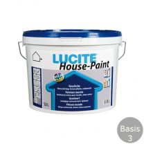 LUCITE HOUSEPAINT 5 LITER B.3 VOL WIT