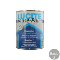 LUCITE HOUSEPAINT 1 LITER B.3 VOL WIT