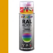 DUPLICOLOR ACRYL 400ML HG RAL 1004 GOUDGEEL