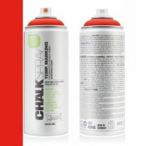 MONTANA 400ML CHALKSPRAY RED 3000