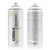 MONTANA 400ML CHALKSPRAY WHITE 9100