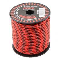 QL ROPE RED/BLACK 150KG 3MMX30MTR