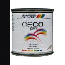 MOTIP DECO PAINT 100ML ZWART MAT RAL 9005