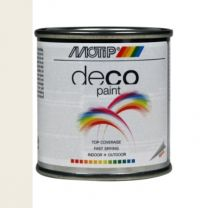 MOTIP DECO PAINT 100ML WIT MAT RAL 9010