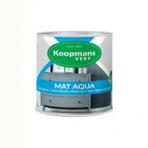 KOOPMANS AQUA MAT 373 WIT 250 ML