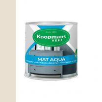 KOOPMANS AQUA MAT 9001 CREME WIT 250 ML