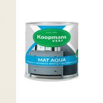 KOOPMANS AQUA MAT 9010 ECHT WIT 250 ML