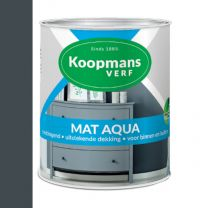 KOOPMANS AQUA MAT 489 ANTRACIET 750 ML