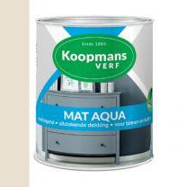 KOOPMANS AQUA MAT 9001 CREME WIT 750 ML