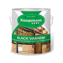 KOOPMANS BLACK VARNISH 2,5LTR