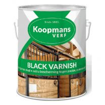 KOOPMANS BLACK VARNISH 5LTR