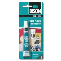 BISON HARD PLASTIC LIJM 25 ML TUBE KAART (1312004)