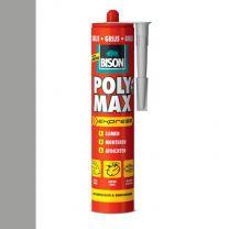 BISON POLY MAX EXPRESS 425G KOKER GRIJS