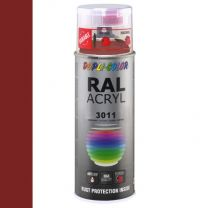 DUPLICOLOR ACRYL 400ML HG RAL 3011 BRUIN ROOD