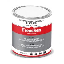 FRENCKEN DIAGLASS / PU LAK CL SATIJN BLIK 750 ML