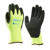 WINTERGRIP HANDSCHOEN ACRYL LATEX GECOAT GEEL XL