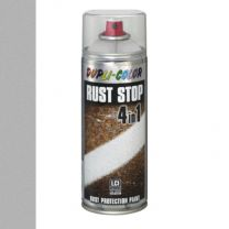 DUPLICOLOR RUST STOP 4-IN-1 400ML ZILVER