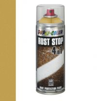 DUPLICOLOR RUST STOP 4-IN-1 400ML GOUD