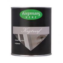 KOOPMANS KRIJTVERF WIT/P 750ML