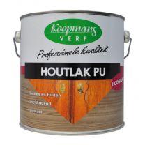 KOOPMANS HOUTLAK PU HOOGGLANS BLANK 2,5LTR