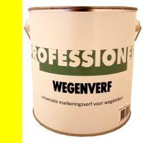 KOOPMANS PROFESSIONELE WEGENVERF GEEL 2,5LTR