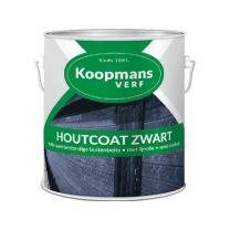 KOOPMANS HOUTCOAT ZWART 2,5LTR