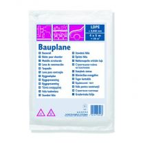BOUWFOLIE LDPE 0,040MM 4X5M TRANSPARANT