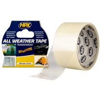 HPX ALL WEATHER TAPE - TRANSPARANT 48MM X 5M