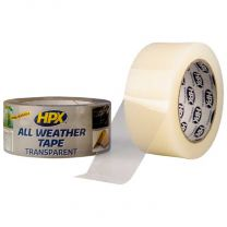 HPX ALL WEATHER TAPE - TRANSPARANT 48MM X 25M