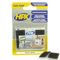 HPX DUO GRIP KLIKBAND PADS - 25MM X 25MM