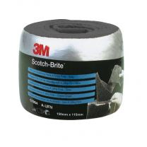3M SCOTCH-BRITE PRE-CUT HANDVEL GRIJS 115 X 150MM