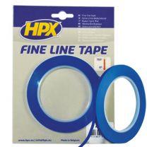 HPX FINE LINE TAPE (LINEERBAND) - BLAUW 9MM X 33M