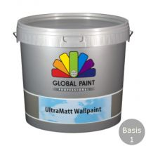 GLOBAL ULTRAMATT WALLPAINT 10LTR B.1/WIT