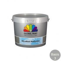 GLOBAL ULTRAMATT WALLPAINT 2,5LTR B.3