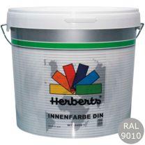 HERBERTS INNENFARBE DIN 10LTR RAL 9010