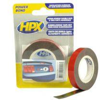HPX DUBBELZIJDIGE HSA BEVESTIGINGSTAPE - ANTRACIET 19MM X 2M