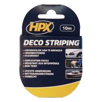 HPX STRIPING 8MM - ZWART