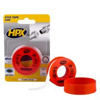 HPX PTFE GASAFDICHTINGSTAPE BLISTER - WIT 12MM X 12M