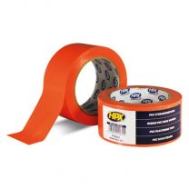 HPX PVC BESCHERMINGSTAPE - ORANJE 75MM X 33M